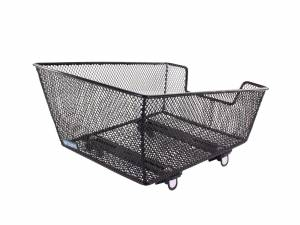 AROUND rear bicycle basket College Small Basic, black