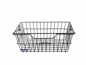 AROUND bike basket Fine Wire, black