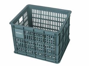 Basil bicycle crate M seagrass