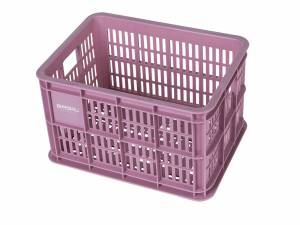 Basil bicycle crate S faded blossom