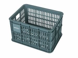 Basil bicycle crate S seagrass