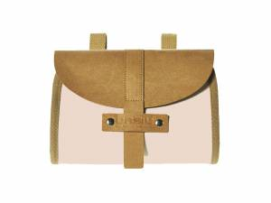 Basil saddle bag Portland cream white