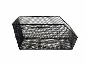 Basil rear bike basket Cento black