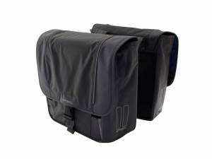 Basil double bike bag Sport design black