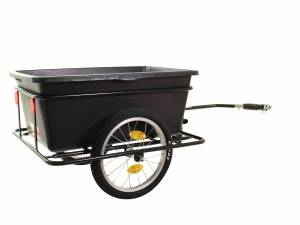 Roland bicycle trailer BigBoy with low towarm