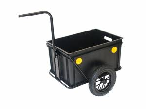 Roland bicycle trailer MiniBoy with high towarm